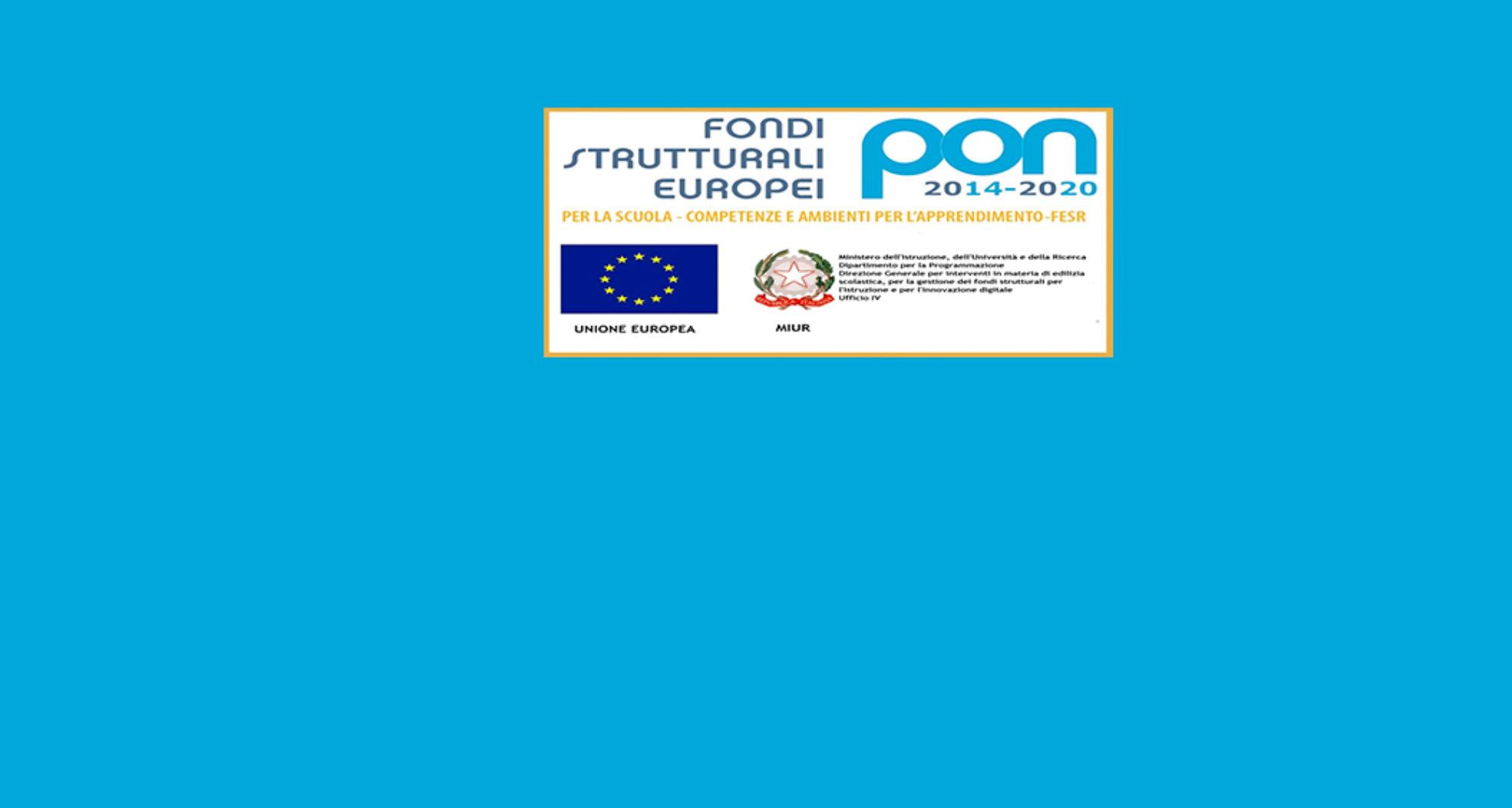 PUBBLICITA' e INFORMAZIONE dei Progetti PON 2014_2020